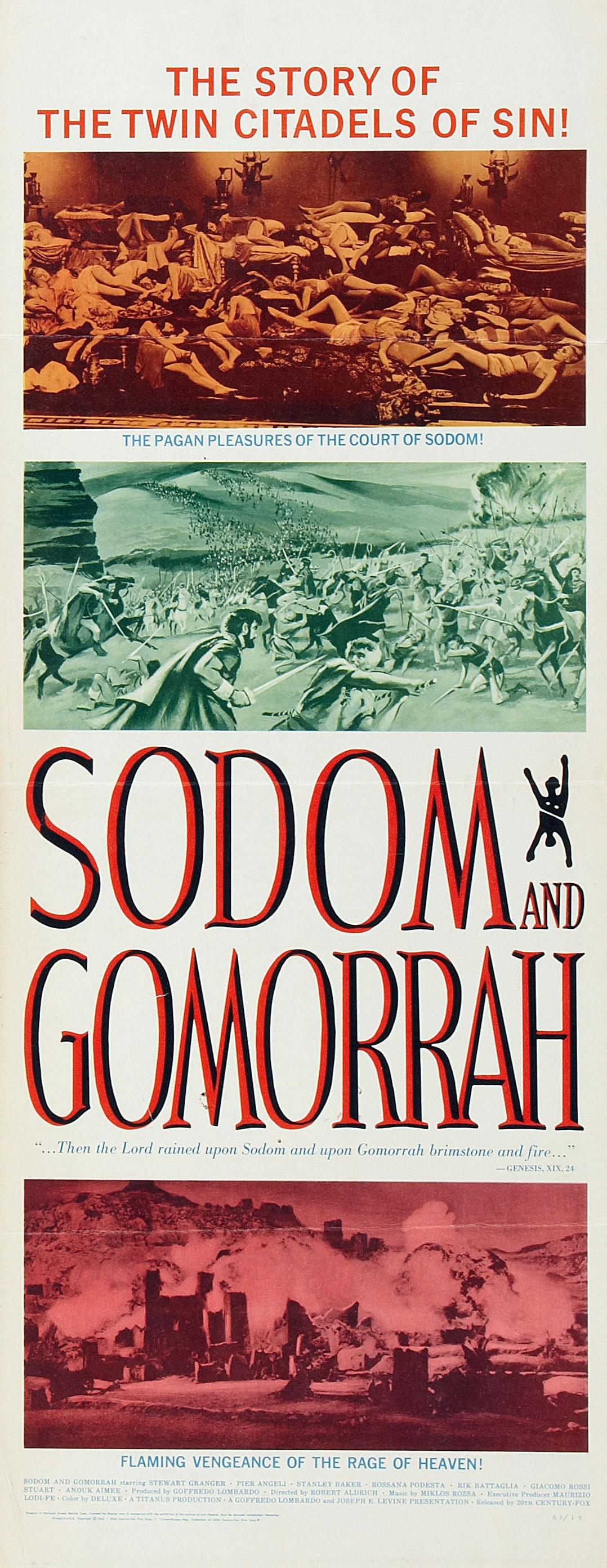 Sodom Und Gomorrha 1962