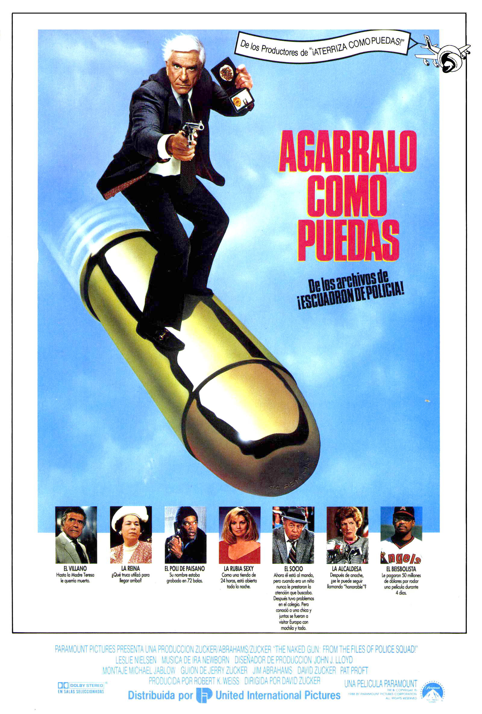 1988 The Naked Gun From the Files of Police Squad Official