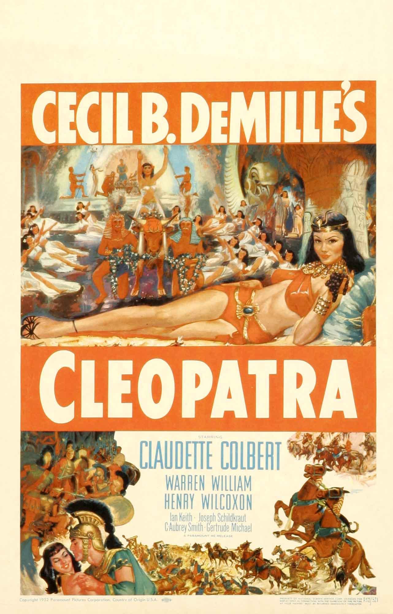 Cleopatra (Cleopatra) (1934)