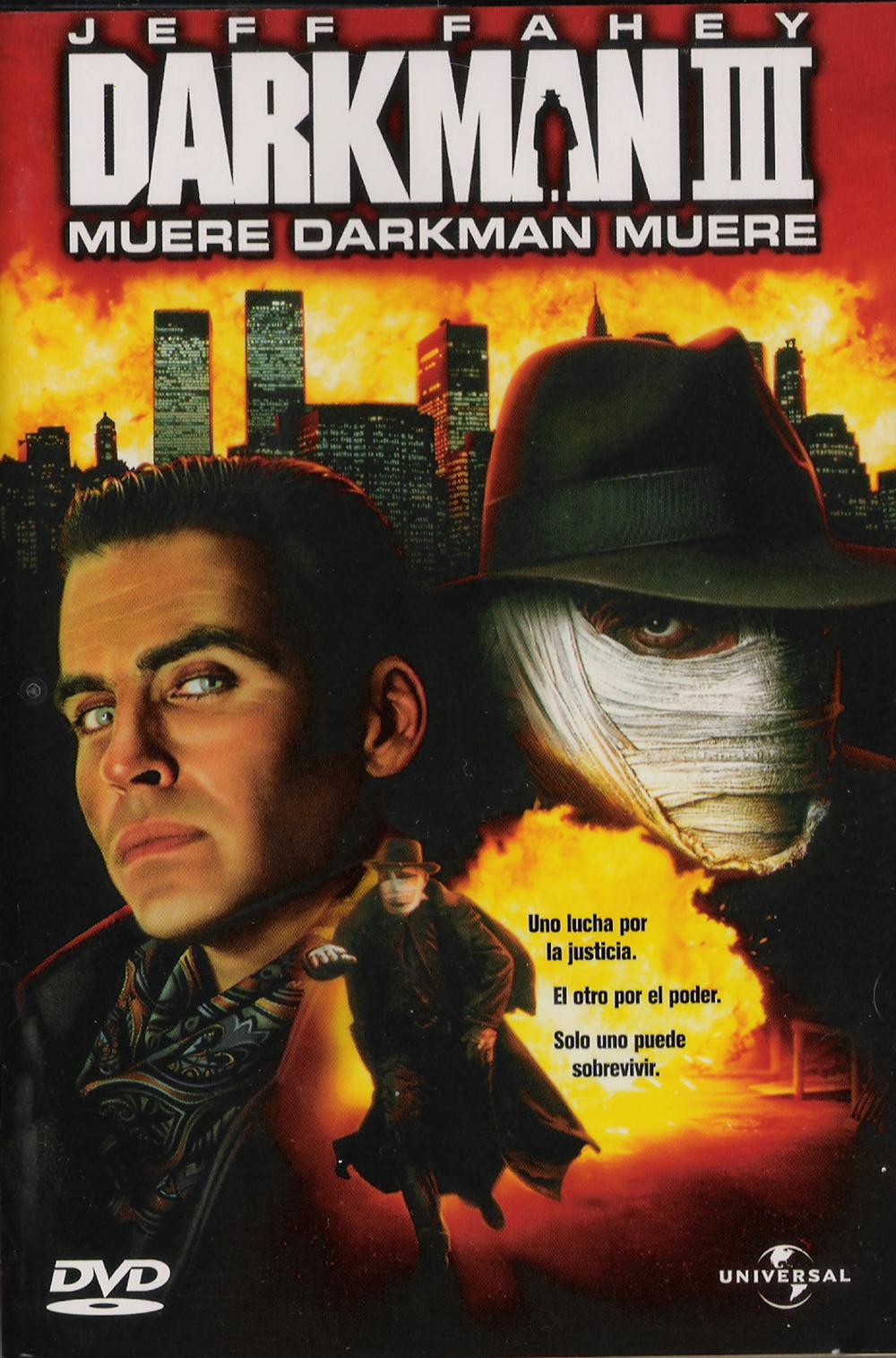 Darkman 3 - Die Darkman Die affiche