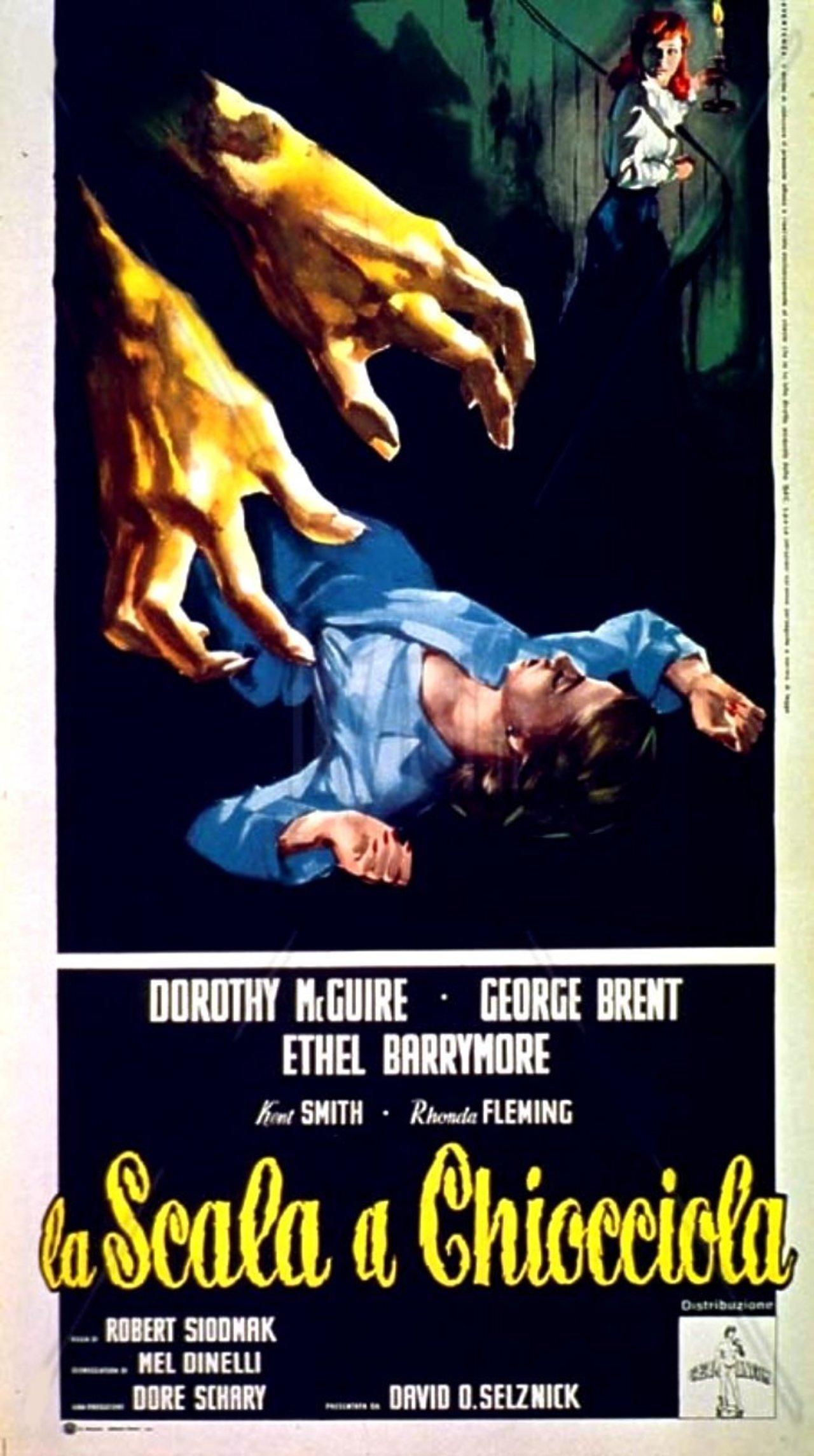 La escalera de caracol (The Spiral Staircase) (1945) – C@rtelesmix