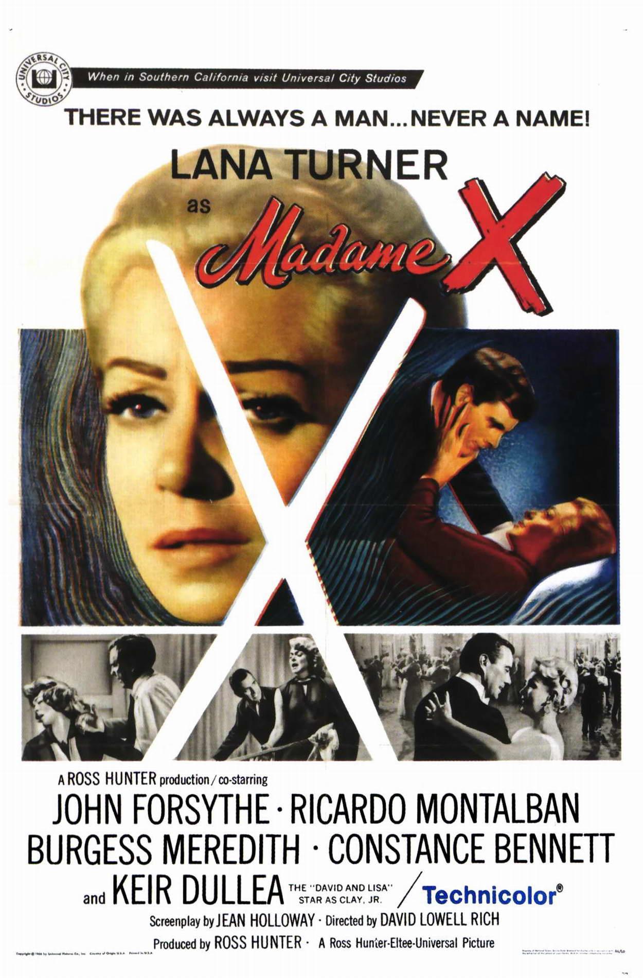 La Mujer X (V.O.S) (1966)