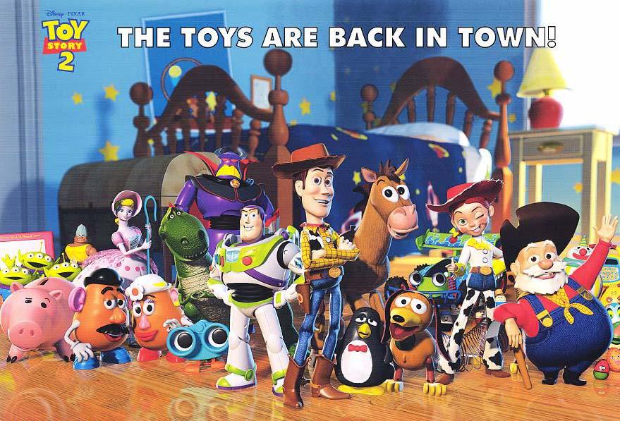 Toy story 2  Toy story 2   1999 Toy Story 1999