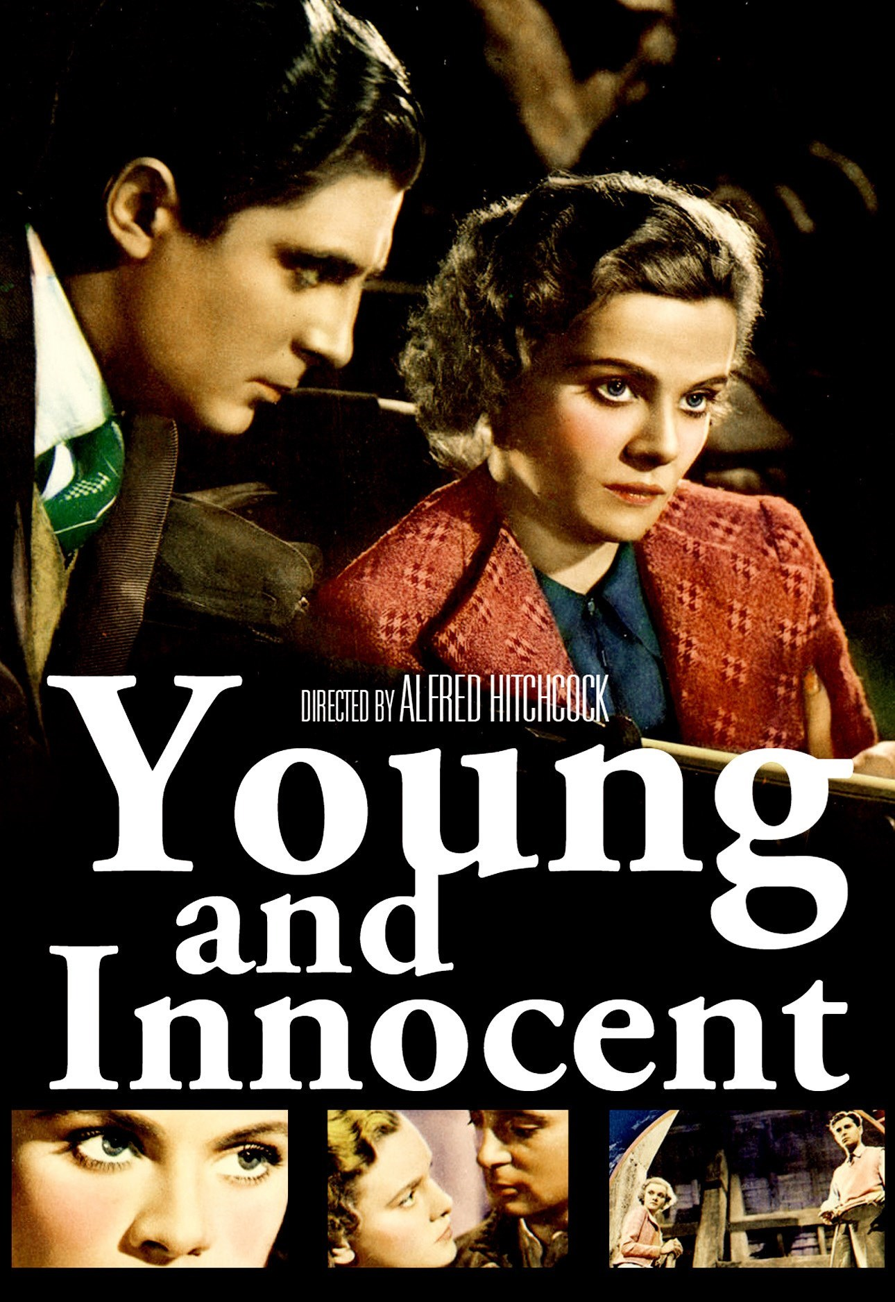 Young and Innocent (1937, dir, Alfred Hitchcock) modern poster